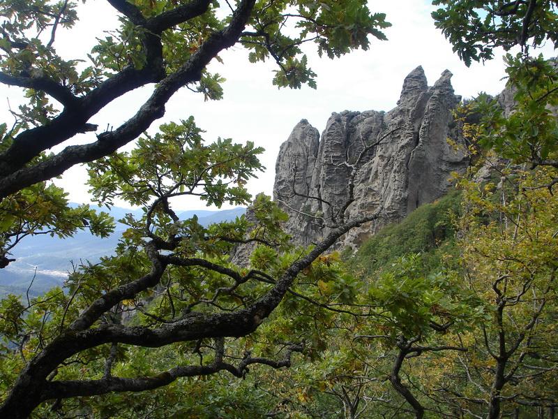 Гора Индюк Туапсинского района Краснодарского края
