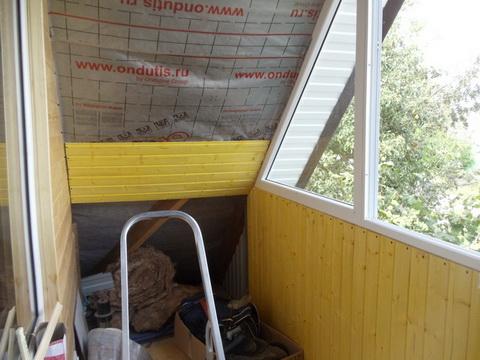 Отдека балкона