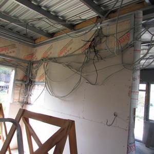 Электропроводка каркасного дома