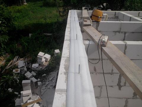 Слой гидроизоляции для крыши