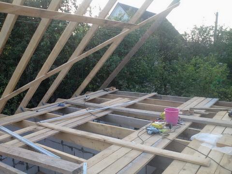 Схема крепления строп для крыши своими руками